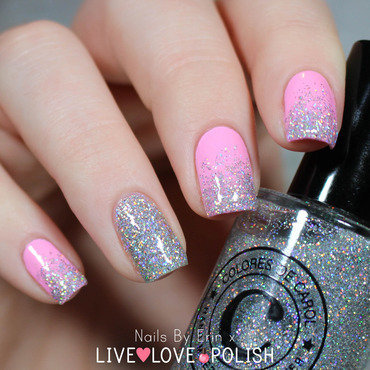 Floss gloss Perf and Colores De Carol Bling Swatch by Erin
