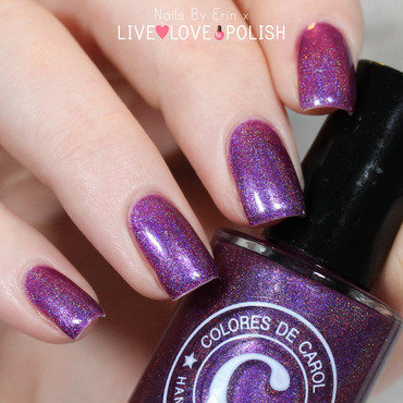 Colores De Carol Amethyst Swatch by Erin