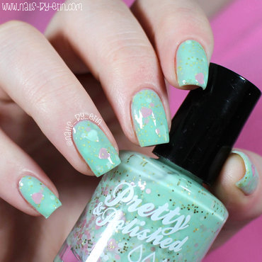 Pretty & Polished My Best Invest-mint Swatch by Erin