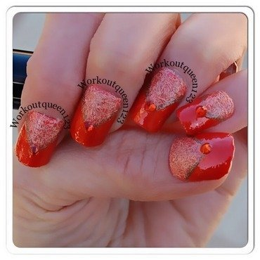 Fall nails nail art by Workoutqueen123