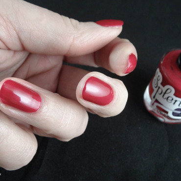 Splendor Nail Lacquer Mars Swatch by Virginie