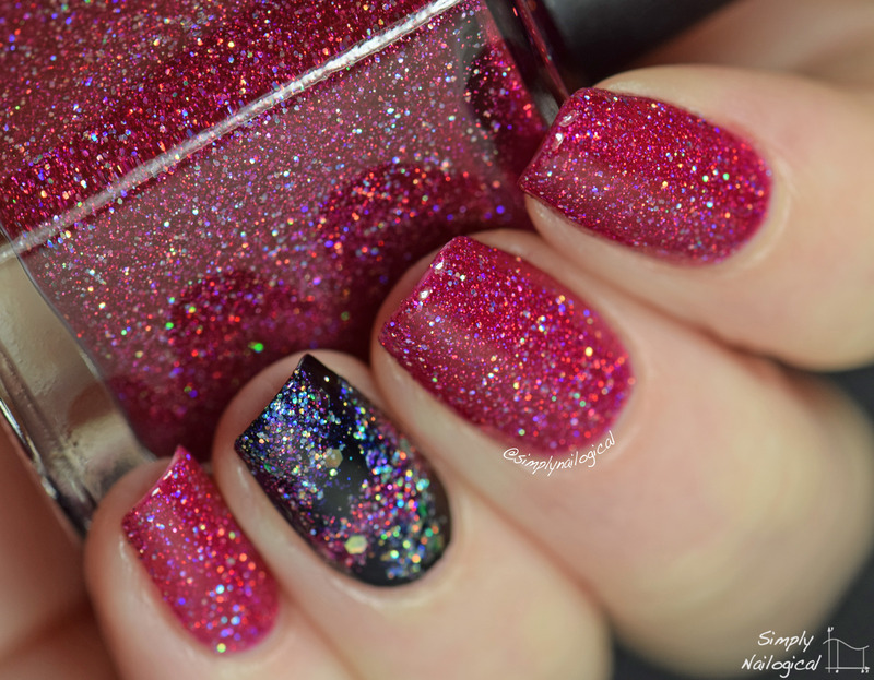 Polished By Kpt Wave Function Swatch by simplynailogical - Nailpolis ...