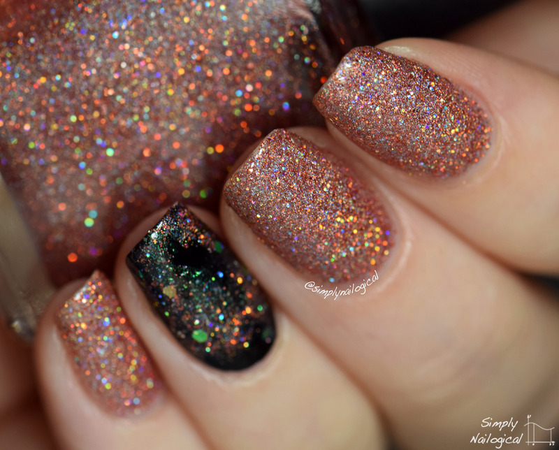 Polished By Kpt Bleeding Stars Swatch by simplynailogical