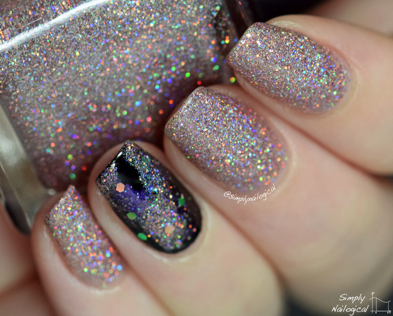 Polished By Kpt Vacay to Venus Swatch by simplynailogical