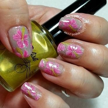 I Miss Spring nail art by Silje  Bannister