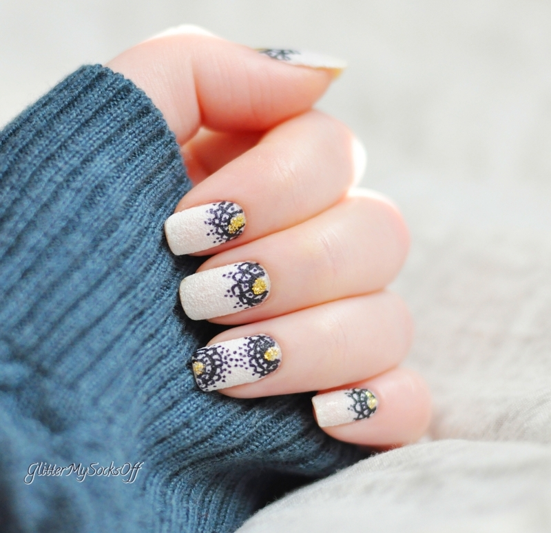 Sugar coat this for me please nail art by GlitterMySocksOff