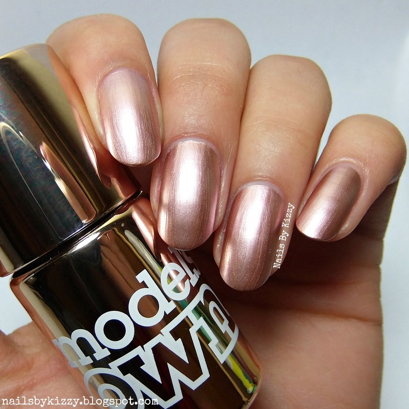 Models Own Rose Swatch By Kizzy