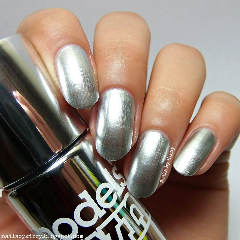 Models Own Silver Swatch by Kizzy