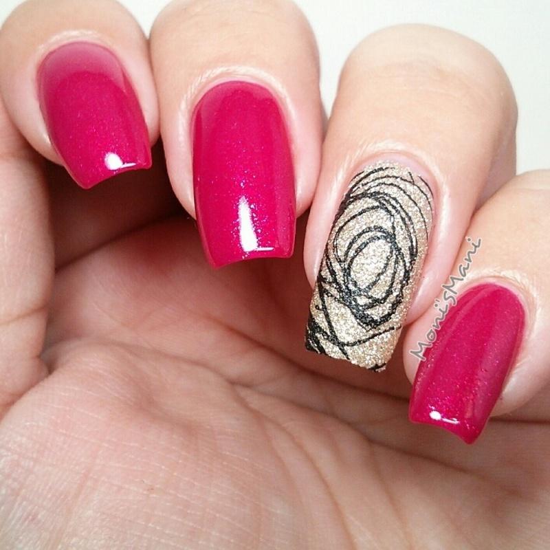 love maze nail art by Moni'sMani