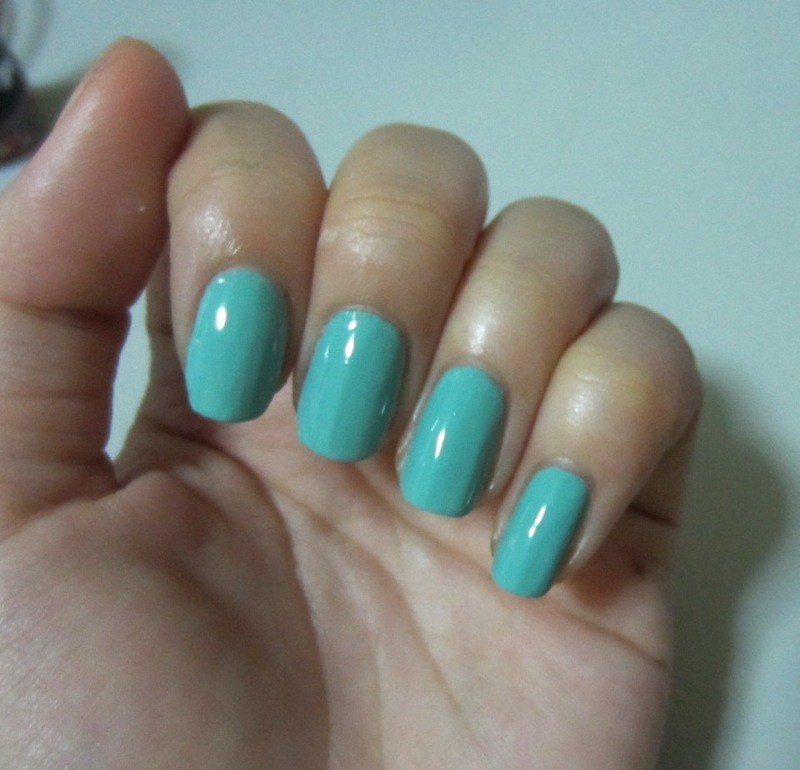 China Glaze For audrey Swatch by JingTing Jaslynn