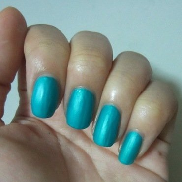 China Glaze Turned up turquoise Swatch by JingTing Jaslynn