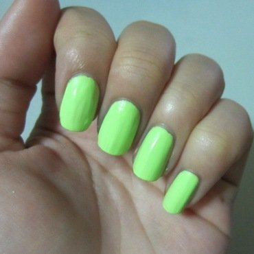 China Glaze Grass is lime greener Swatch by JingTing Jaslynn