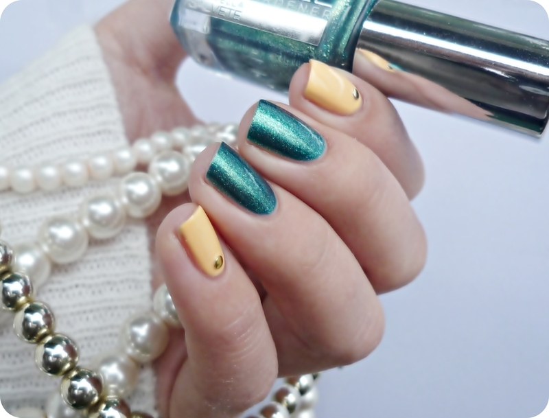 Gabriella Salvete 163 and Maybelline Bleached Neons 241 Swatch by Romana