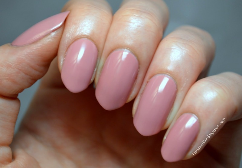 OPI Pink Nail Envy Swatch by Furious Filer