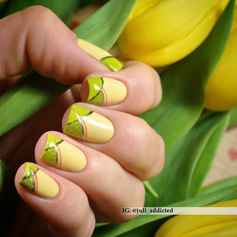 #75 nail art by Juli