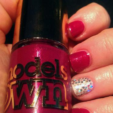 Diamond Sparkle nail art by Rachel Dashwood