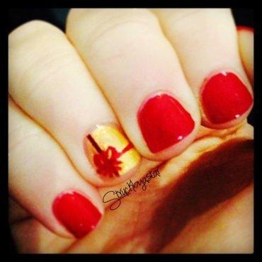 Luxe Present nail art by Rachel Dashwood