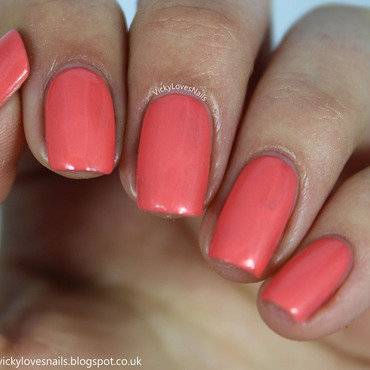 China Glaze Mimosa's before mani's Swatch by Vicky Standage