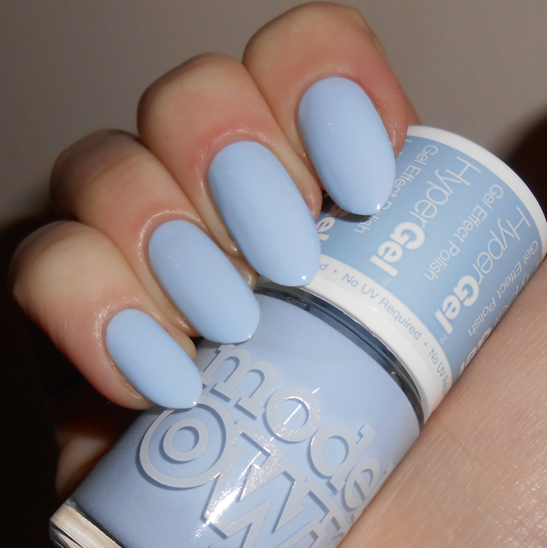 Models Own HyperGel Powder Blue Swatch by MyMintNails