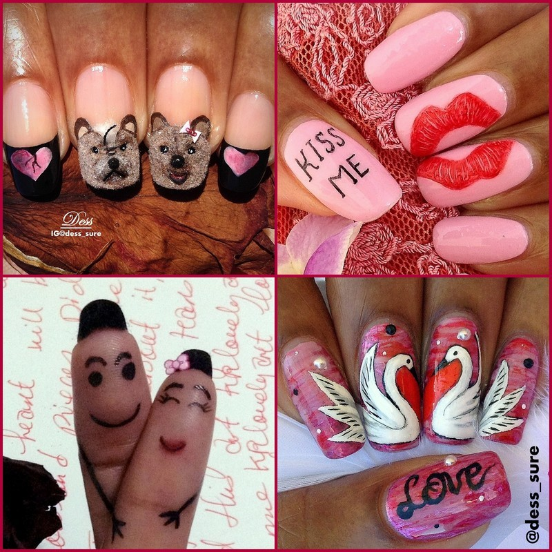 In Love nail art by Dess_sure
