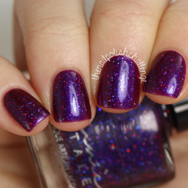 Femme Fatale Star Crossed Lovers Swatch by Kelli Dobrin