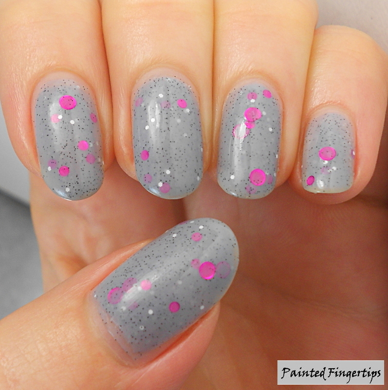 Love Thy Polish Zombie Brains Swatch by Kerry_Fingertips