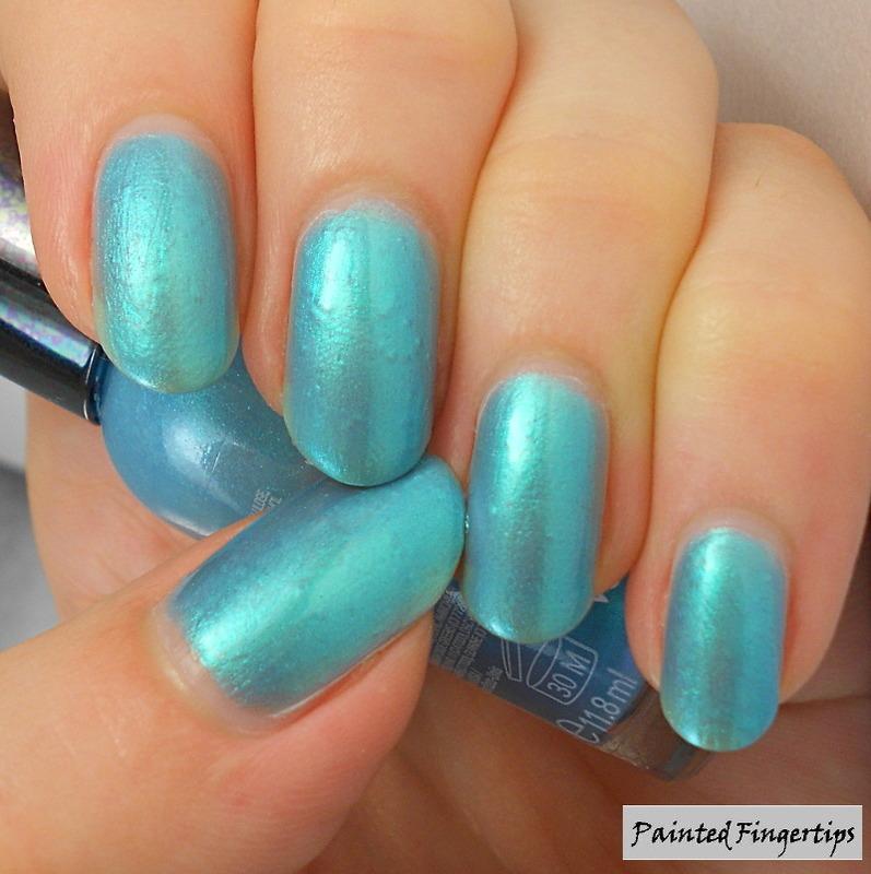 Sally Hansen Blizzard Blue Swatch by Kerry_Fingertips