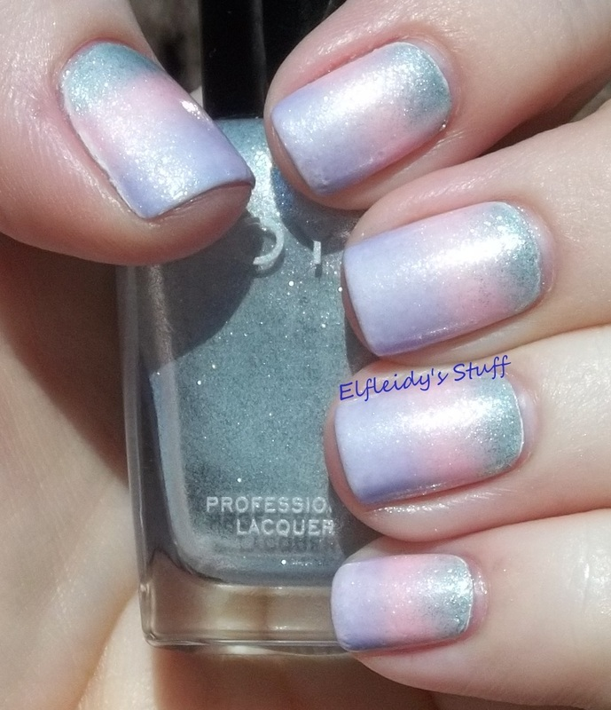 Pastel gradient nail art by Jenette Maitland-Tomblin
