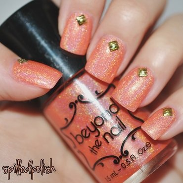 Beyond The Nail Solar Flare Swatch by Maddy S