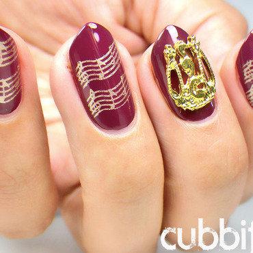 Music nail art thumb370f