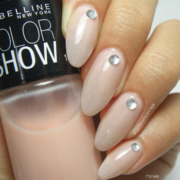 Mybelline Color Show Ballerina Swatch by Michelle Mullett