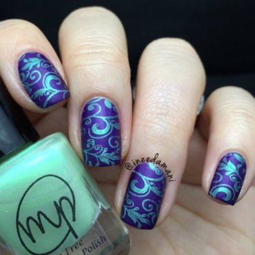 Regal nail art by Carmen Ineedamani