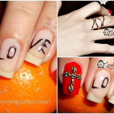 Love Nails nail art by Leneha Junsu