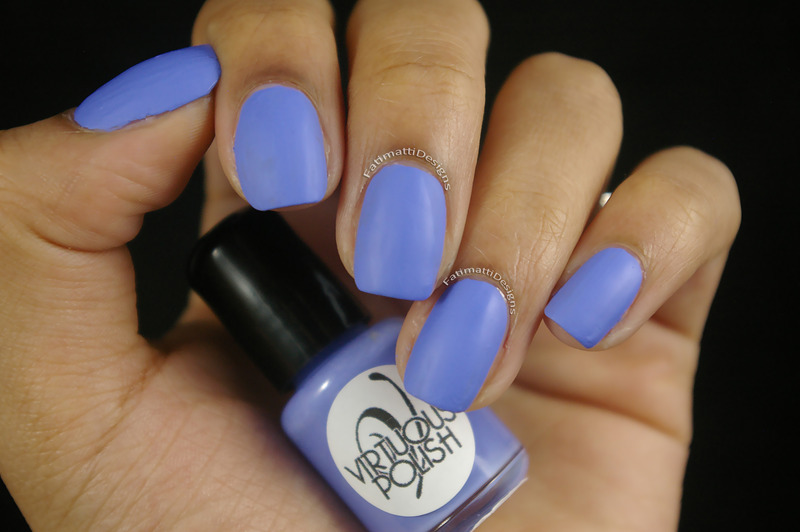 Virtuous Polish Queen Ester Swatch by Fatimah