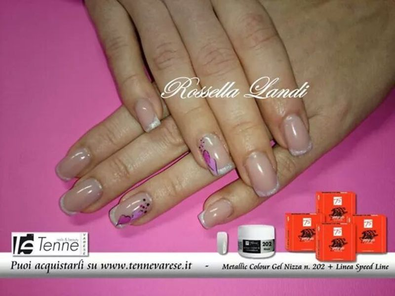 love nail art by Rossella Landi