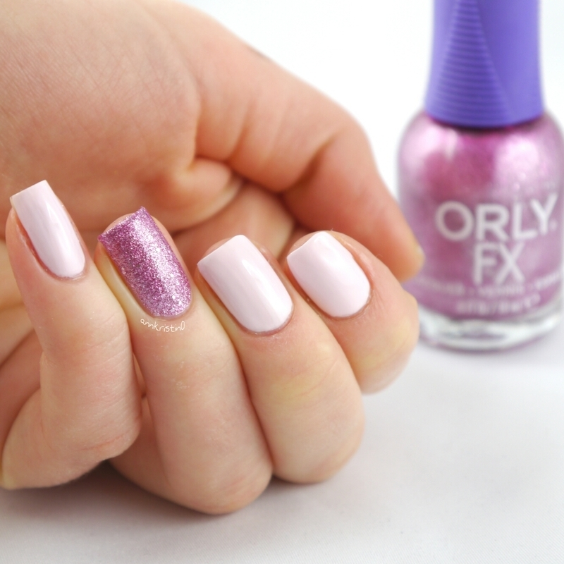 Orly pink pixel and Orly Cake Pop Swatch by Ann-Kristin