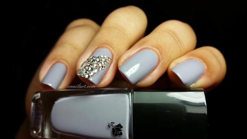 Strass Veil nail art by OnailArt