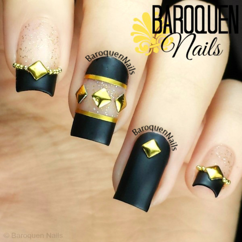 Prominent  nail art by BaroquenNails