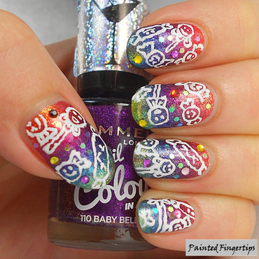Colourful sweet nails thumb370f