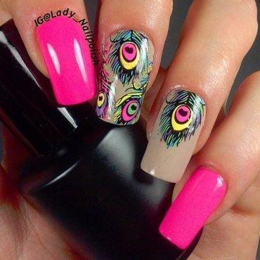 Samba Brasileiro Manicure nail art by Lady Nailpolish Nathalie