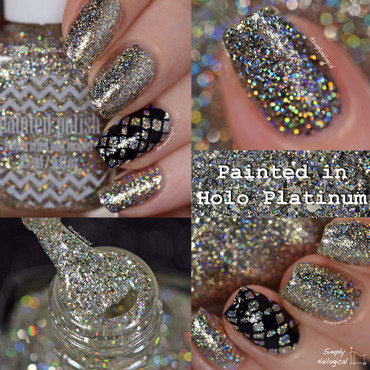 Paintedpolish paintedinholoplatinum collage thumb370f