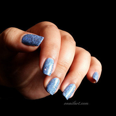 Miss Europe Kit DISCO XXL Bleu Swatch by OnailArt