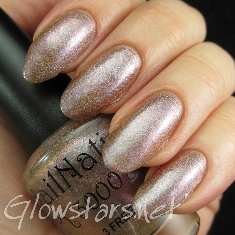 Nailnation 3000 Journey To Holo Land Swatch by Vic 'Glowstars' Pires