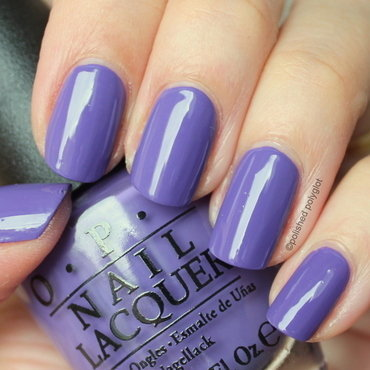 OPI Lost My Bikini in Molokini Swatch by Polished Polyglot