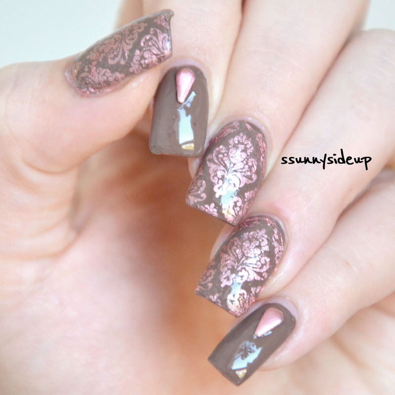 baroque nails nail art by ssunnysideup (Sabrina)