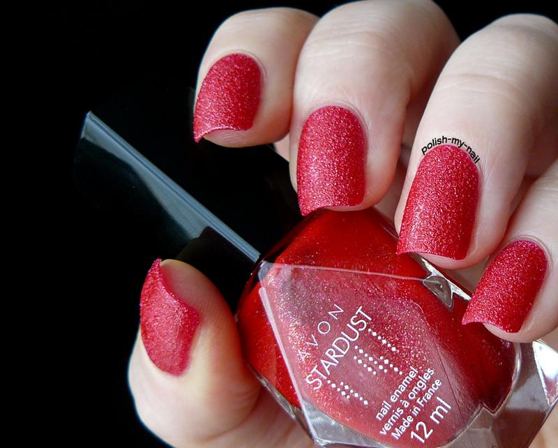 Avon Cherry Dazzler Swatch by Ewlyn