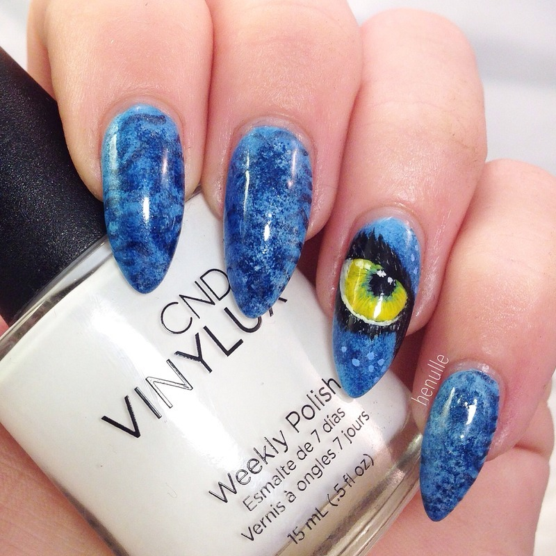 Guess a movie! nail art by Henulle