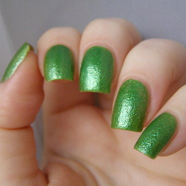 Lime nail art by Szilvia