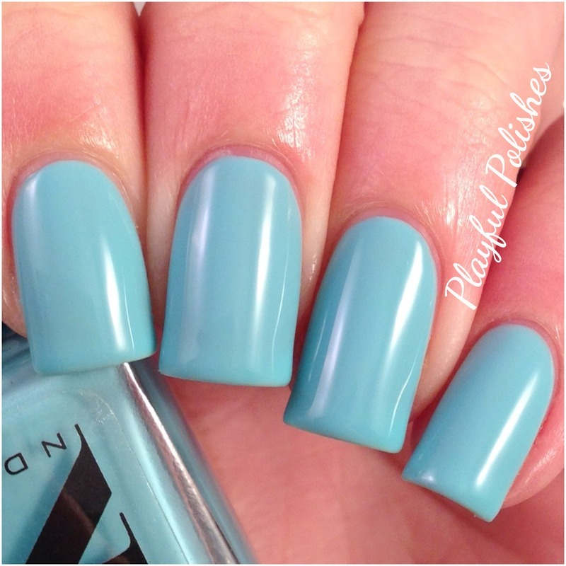 Nd Lacquers Santorini Swatch by Playful Polishes