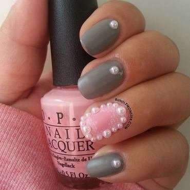 Christmas In Pink nail art by Bundle Monster